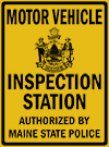 Authorized Maine Motor Vehicle Inspection Station